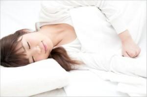 胃痛の寝方